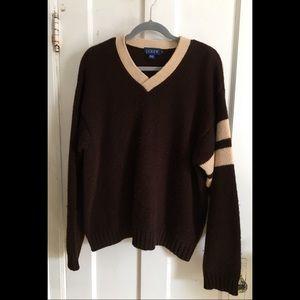 J. Crew Wool V-neck Sweater